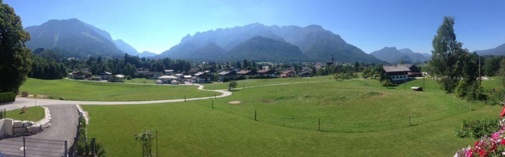 Panoramic view from apartment 3