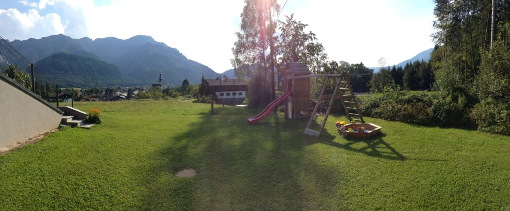 Panoramic view from apartment 4